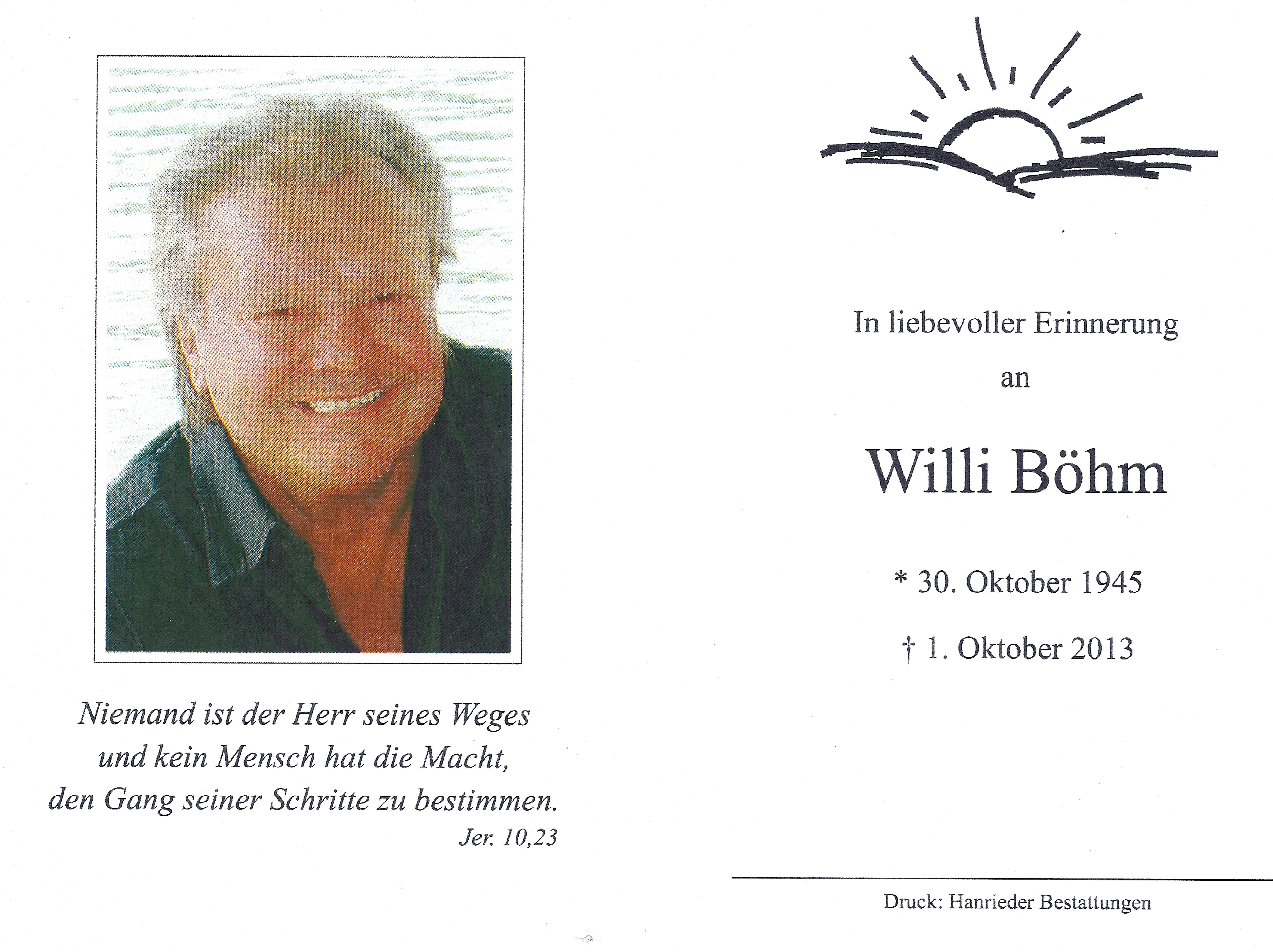 Willi Böhm