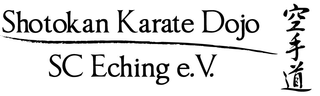 Schriftzug-Karate-Dojo-Stan
