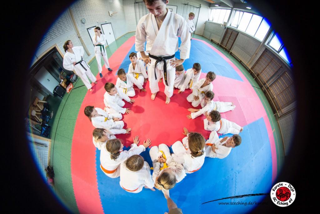 Karate Nacht für Kinder