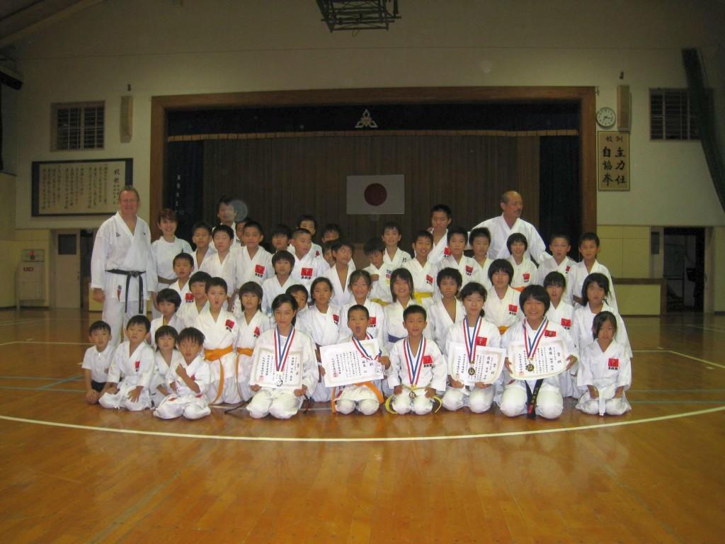 07 Gruppenbild Training Fukuoka