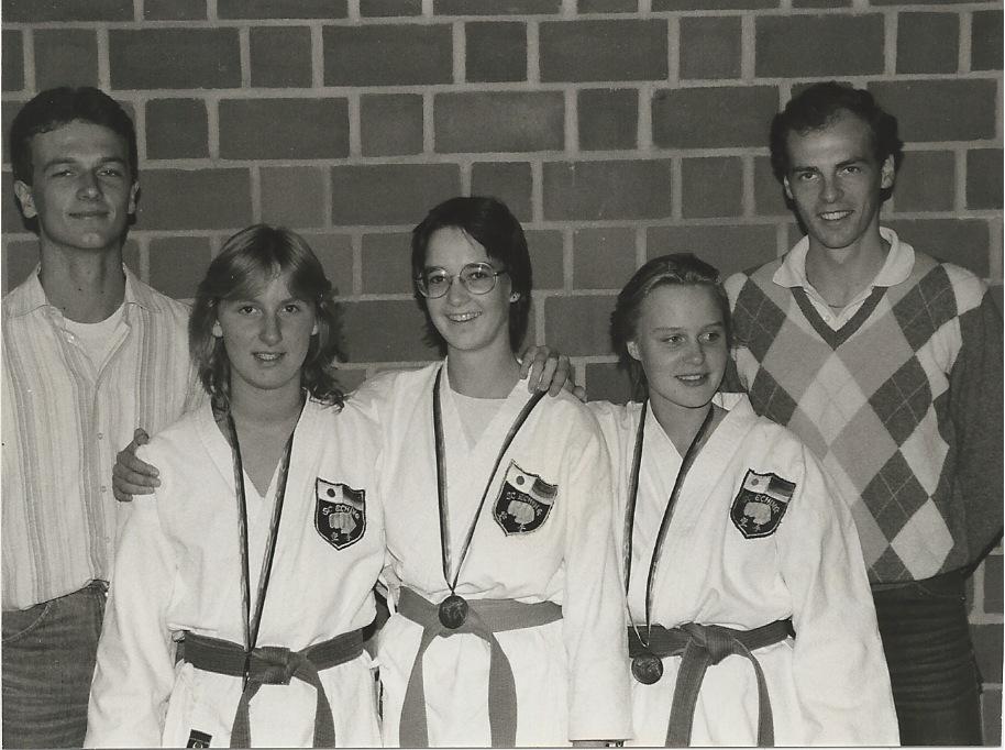 Erfolgreiches Damen Kata Team