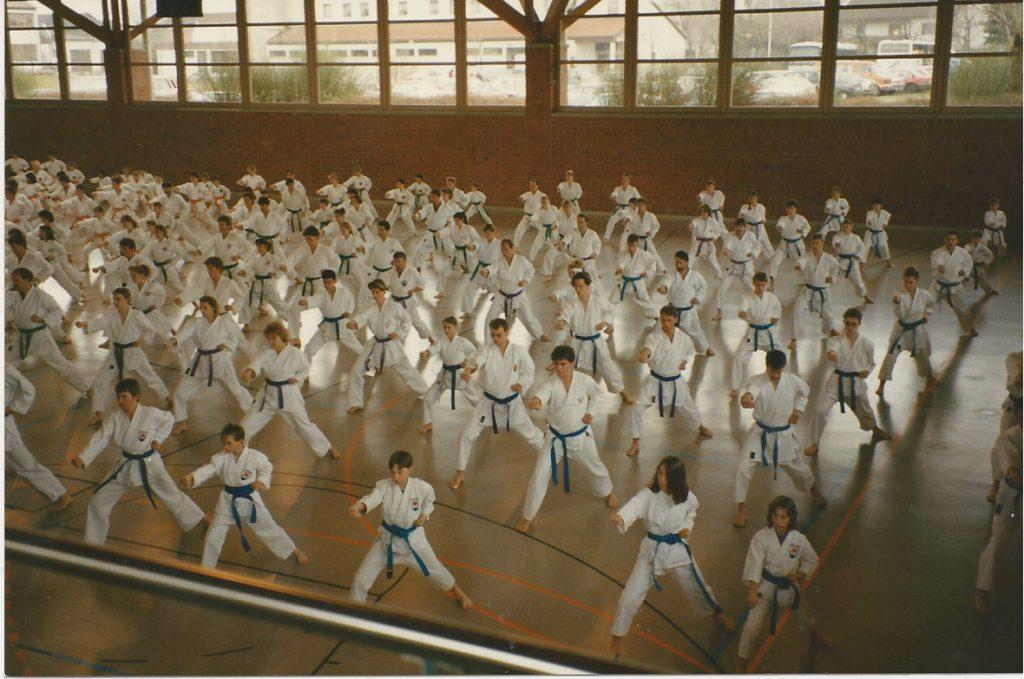 Karate will gelernt sein