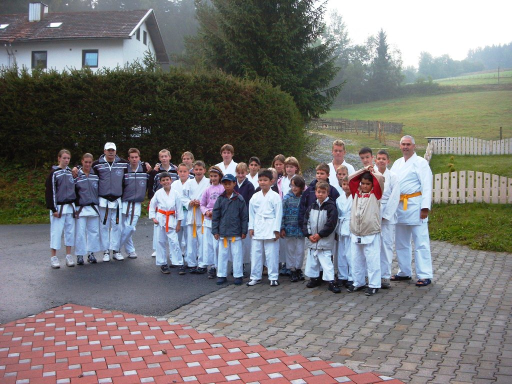 Karate im Bayrischen Wald